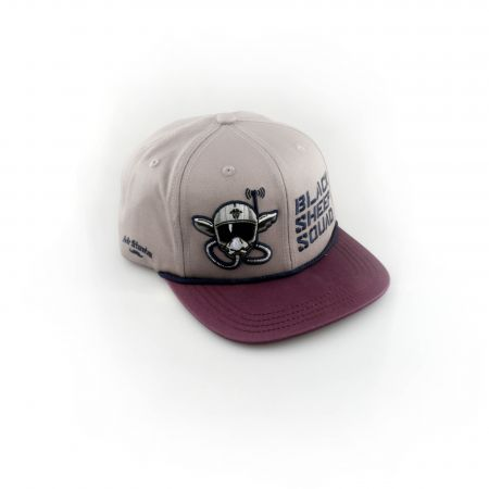 TBS Black Sheep Squad Cap violett