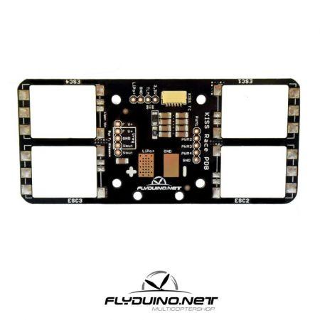 FlyDuino Kiss Carrier Mini Power Distribution 24A Version (Blow Out)